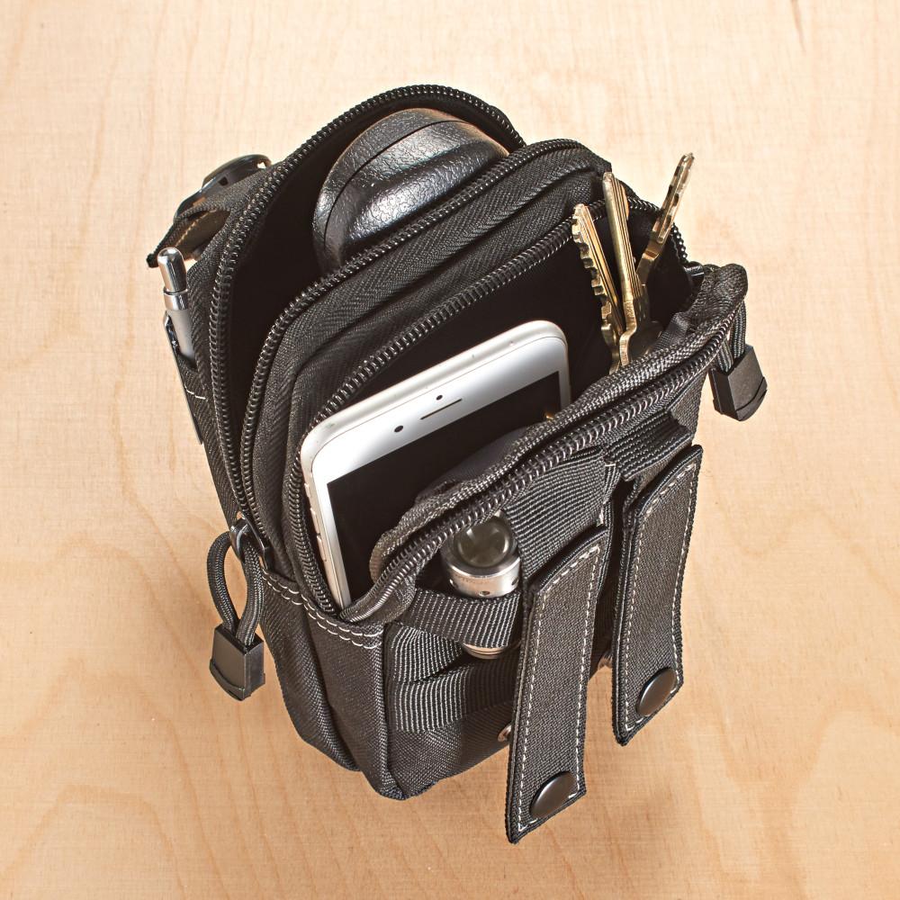efa8e4e555277 Magnet 3Pagen Pánska taška na opasok, čierna - Pekne-byvanie.sk